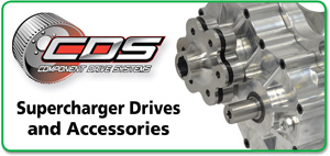 Components Drive Systems - Supercharger Drives and Accessories