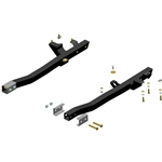 Camaro 74-81, Firebird 74-81 (F-Body) - Subframe g-Connectors for Leaf-Spring Rear Frame