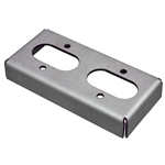 Vent Canister Platform Chassis Mount, Double (Weld-On)