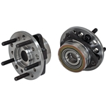 Pro-Touring Floater Hub Set, 5 on 4-1/2