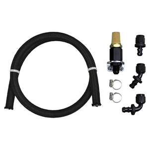 Remote Breather Vent and Hose Kit