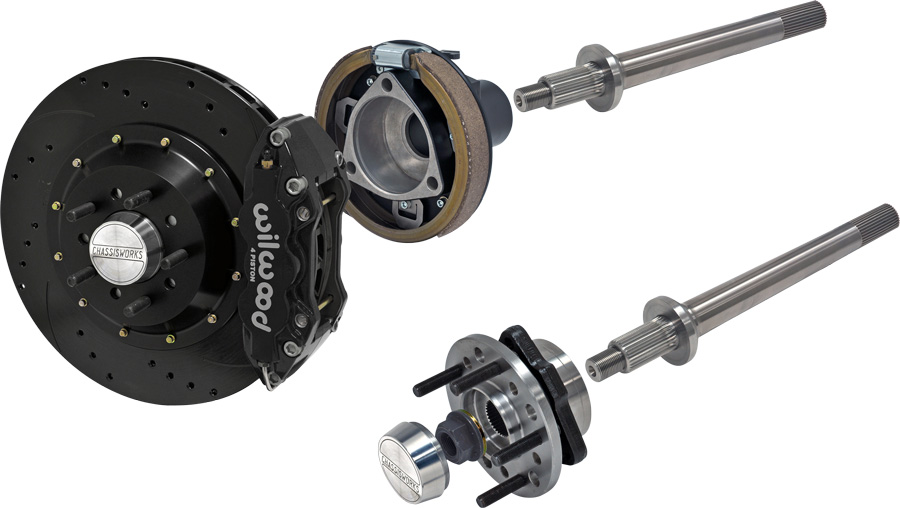 Pro-Touring Floater Axle and Brake System