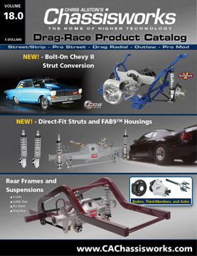 Chassisworks Drag-Race Product Catalog